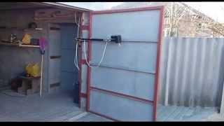 Автоматические распашные ворота(Не дорогая автоматика