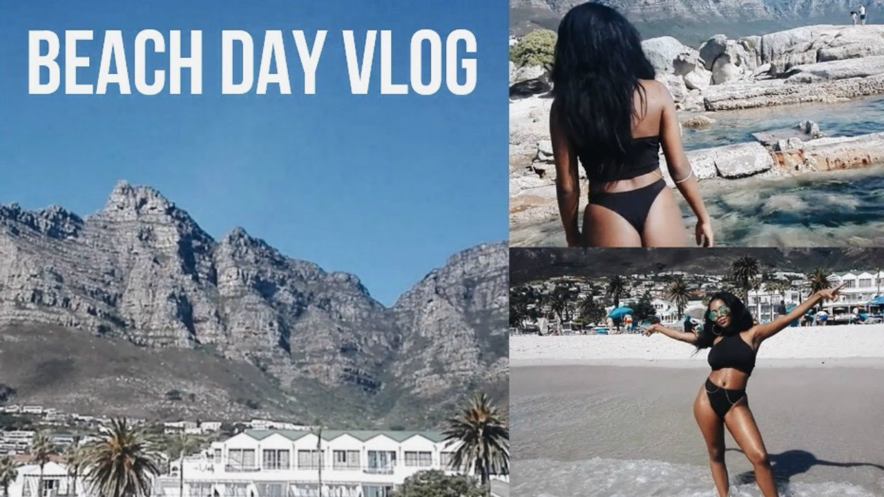 Beach Day Vlog | South African YouTuber - YouTube