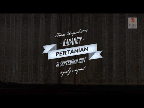 Kabaret - Fakultas Pertanian (Best Actor and Best Actress)