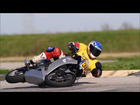 A reflection on motorcycle track day crashes