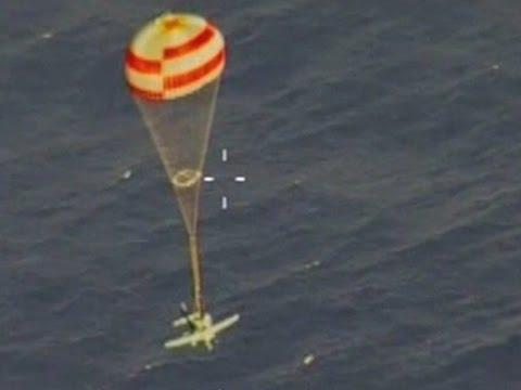 Raw: Pilot Uses Full-plane Parachute in Crash