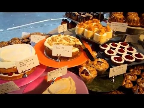 Coffee, cake and lunch in Angel Islington London