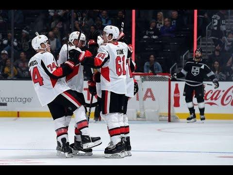 Game 45-Winning Streak-Ottawa Senators vs Los Angeles Kings 2018-19