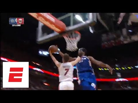 Joel Embiid comes up clutch with five blocks in Game 4 against Miami Heat | ESPN