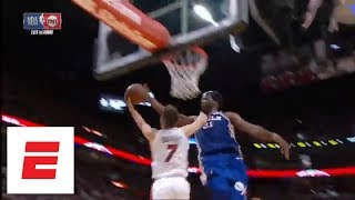 Joel Embiid comes up clutch with five blocks in Game 4 against Miami Heat   ESPN