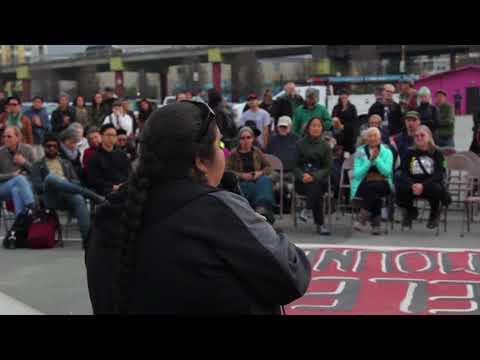 West Berkeley Shellmound Action on MLK Day