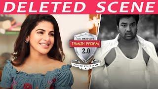 Tamizh Padam 2 Deleted Scene   Narrates Iswariya Menon