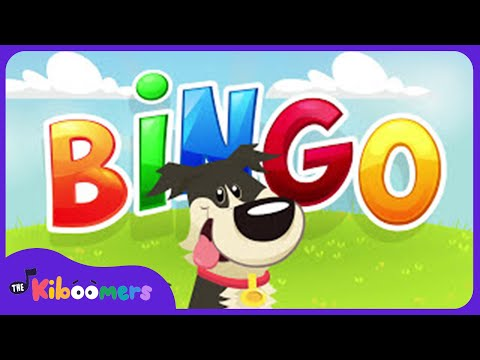 BINGO | Dog Song | Nursery Rhyme With Lyrics | Cartoon Animation For Children