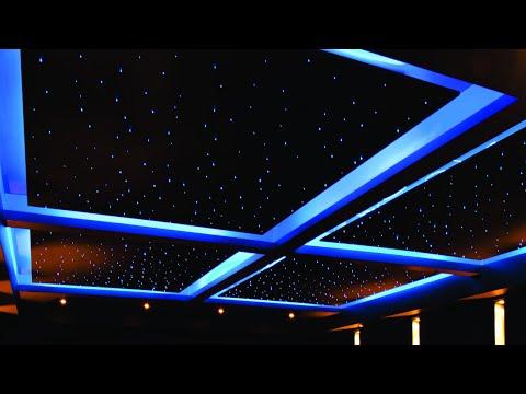 Led infinity mirror ceiling doovi for Plafones led ikea
