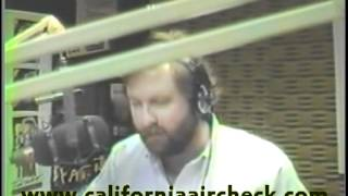 KPKE Denver Steven B. & The Hawk 1986 California Aircheck Video