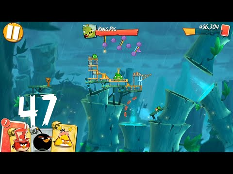 Angry Birds 2: level 47, 3Star
