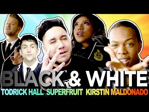 Todrick Hall Ft. Superfruit & Kirstin Maldonado - Black And White REACTION!!!