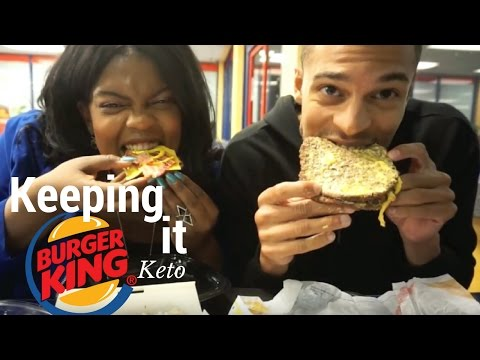 ketogenic diet and burger king
