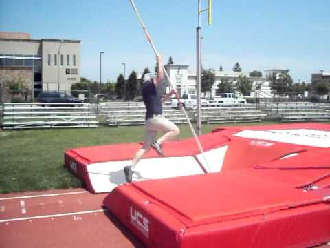 Gary Hogan pole vault swing up