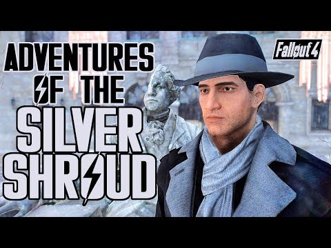 Fallout 4 - Adventures of the SILVER SHROUD - Quest Mod for Xbox & PC