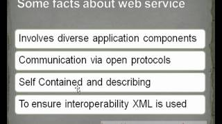 Java/J2EE interview questions:- What is Webservice?