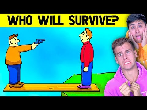 Mystery RIDDLES You Must Solve To SURVIVE!