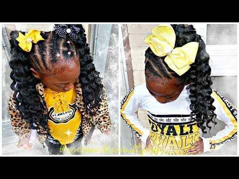 Protective Hairstyles Featuring Trendy Tresses Goddess Curls Crochet Hair thumbnail