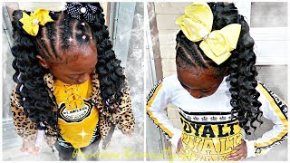 Protective Hairstyles Featuring Trendy Tresses Goddess Curls Crochet Hair