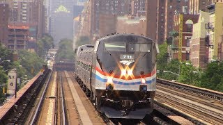 Amtrak & Metro North Railfanning at Harlem 125th Street