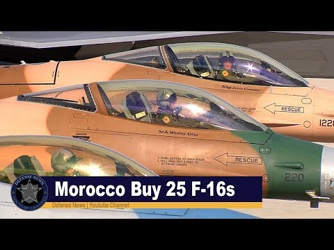 Morocco cleared for massive F-16 fighter buy