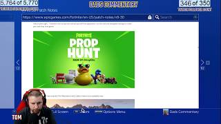 FORTNITE V.930 PATCH PROP HUNT HINWEISE CHUG SPLASH WAS