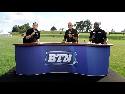BTN Bus Tour: Best Things From Illinois Practice