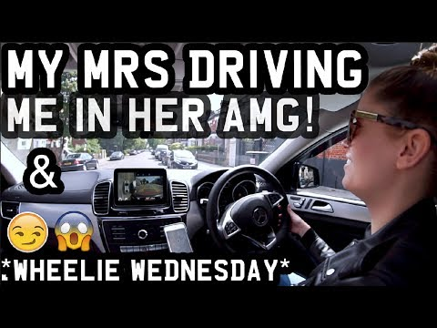 **HAHA** MY MRS DRIVING ME IN HER AMG!! & **WHEELIE WEDNESDAY**