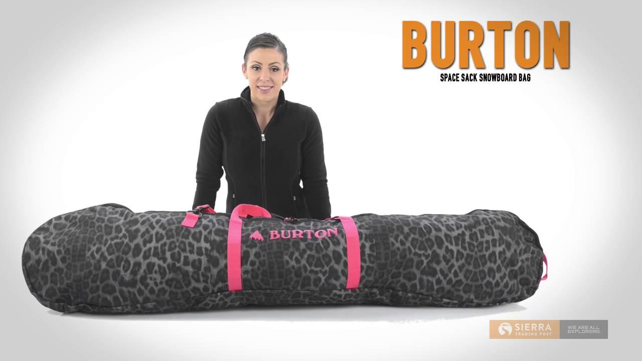 4e9b85ac49c5f5 Burton Space Sack Snowboard Bag - YouTube