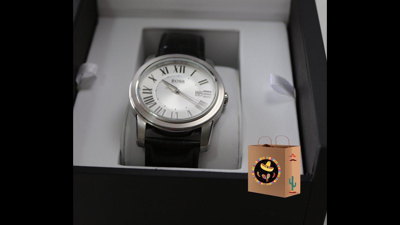 77eba5d5257 Unboxing Relógio de Couro Preto Hugo Boss - Vivara Online - YouTube