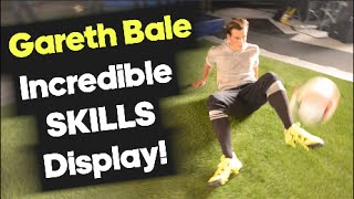 Bale Amazes with Football Skills on Set! - adidas X test