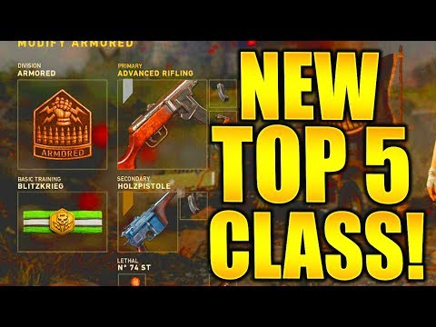 TOP 5 BEST CLASS SETUPS AFTER UPDATE! CALL OF DUTY WW2 BEST CLASS SETUPS COD WW2 DIVISION SETUPS!