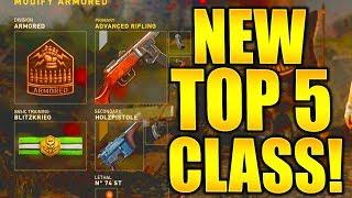 TOP 5 BEST CLASS SETUPS AFTER UPDATE! CALL OF DUTY WW2 BEST CLASS SETUPS COD WW2 DIVISION SETUPS!