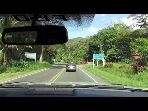 Drive from Jaco to Nativa Resort in Tarcoles, Costa Rica  in 1080p (Sony HDR-TD30V)