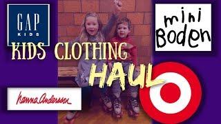 KIDS CLOTHING HAUL! Hanna Ande…