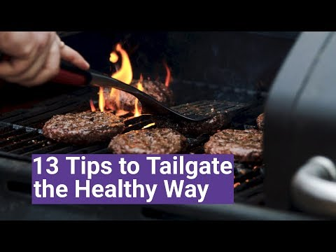 Healthy Tailgate Food Ideas