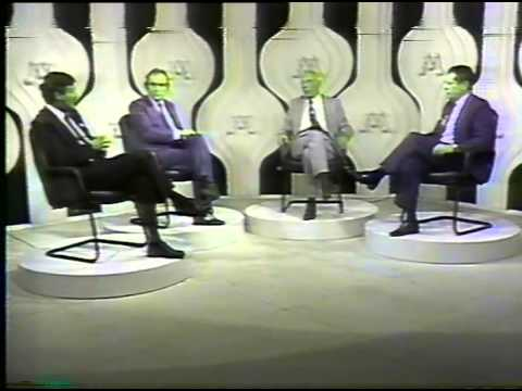 Debate em manchete - Ulisses Guimarães e Bernardo Cabral