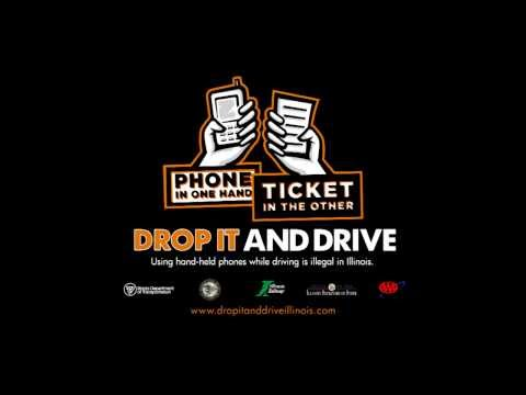 Phone in one Hand. Ticket in the Other. Drop it and Drive.