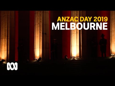 Anzac Day 2019 - Melbourne March And Service
