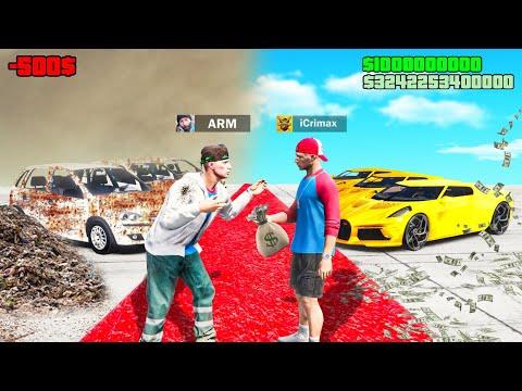ARMER YouTuber vs REICHER YouTuber in GTA 5 RP!