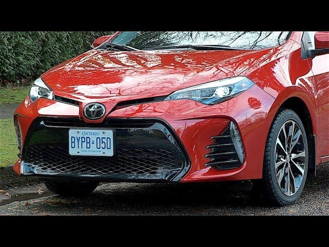 2018 Toyota Corolla And Toyota Safety Sense P Review