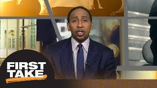 Stephen A.: I don't blame Charles Barkley for Draymond Green 'punch' comments | First Take | ESPN