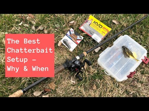 Chatterbait Setup - Why & When To Use A Chatterbait For Bass Fishing
