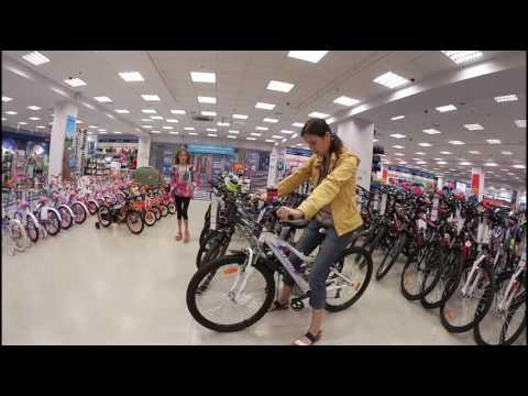Покупаем велосипед в Спортмастер