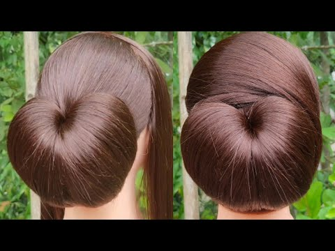 Very Easy Hairstyle With Using Clutcher    Everyday Girls Hairstyle    Simple Juda Hairstyle    thumbnail