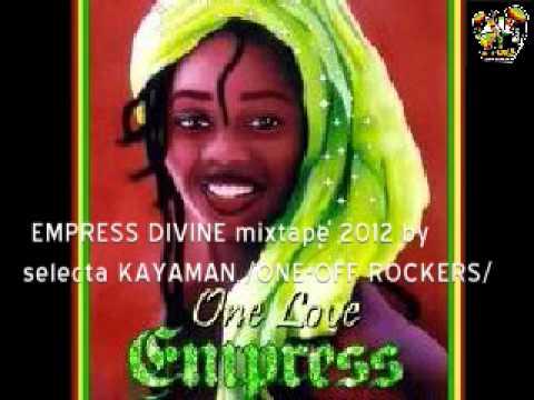 ONE-OFF ROCKERS - V.A. EMPRESS DIVINE mixtape 2012 (female vocals reggae )
