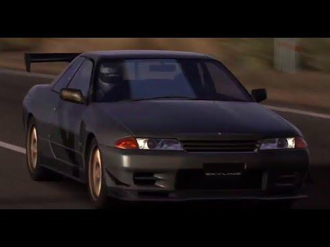 【GT5】 日産 スカイライン GT-R Vスペック II (R32) '94 【DEMO】,Gun Gray Metallic
