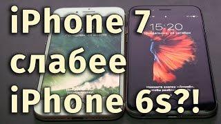 Проблемы iPhone 7 – Тест скорости процессора A10 - iPhone 6s vs iPhone 7