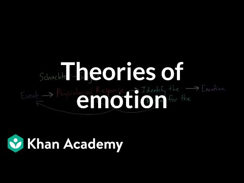 Theories of Emotion | Processing the Environment | MCAT | Khan Academy