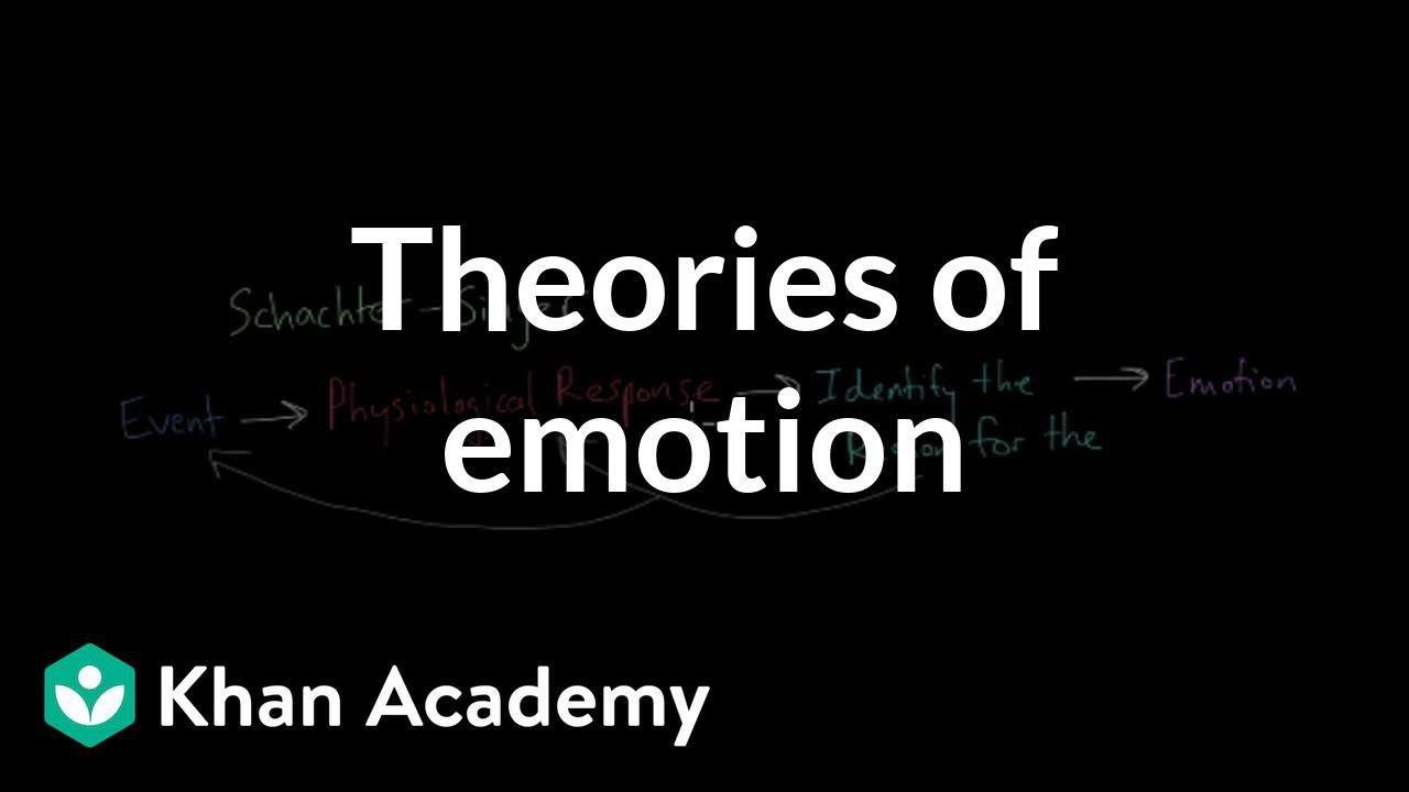 Theories of Emotion (video) | Emotion | Khan Academy